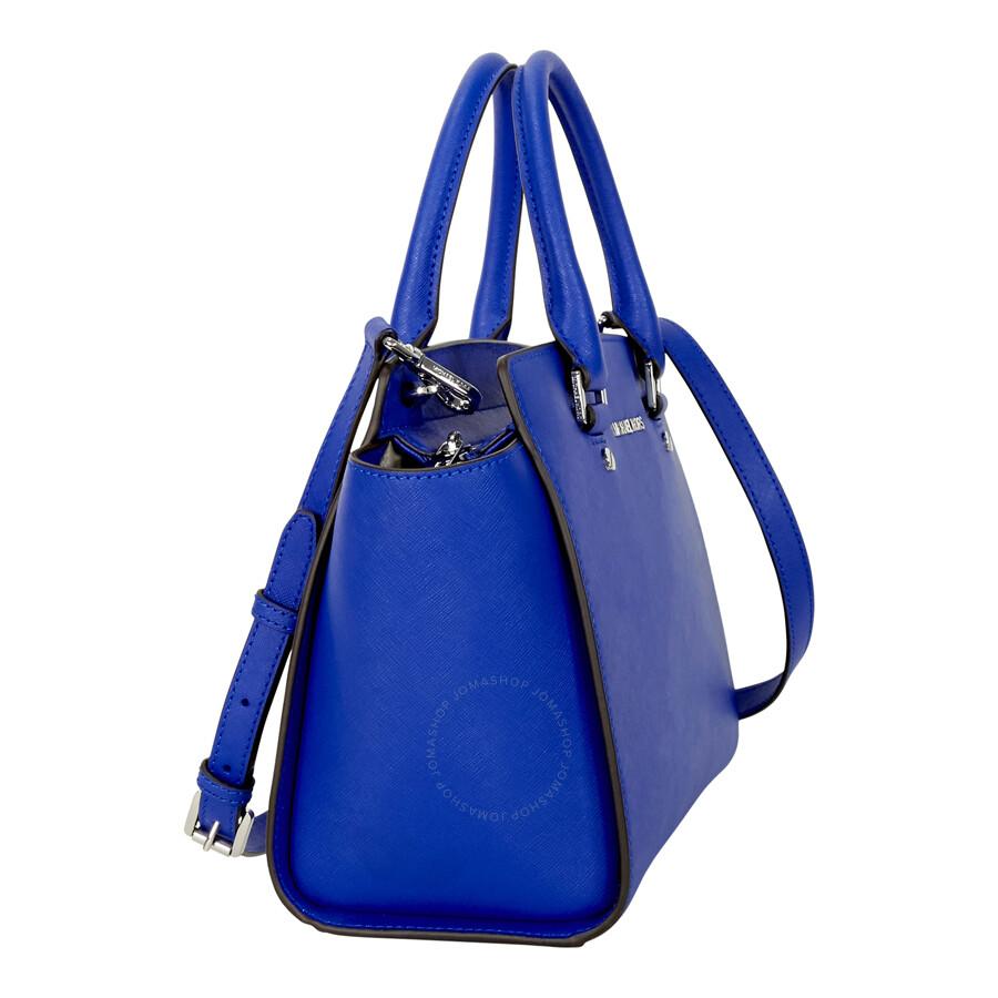 7923983f304f Michael Kors Medium Selma Saffiano Leather Satchel - Electric Blue ...