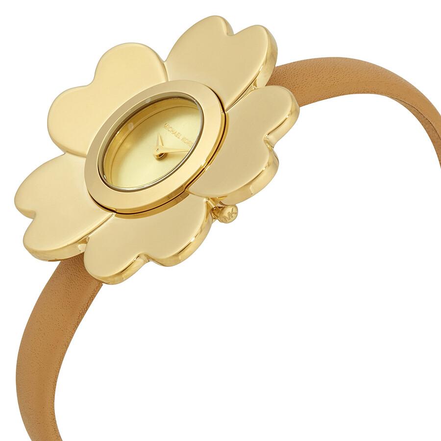 42928455b Michael Kors Mena Gold-tone Ladies Flower Watch MK2664 - Michael ...