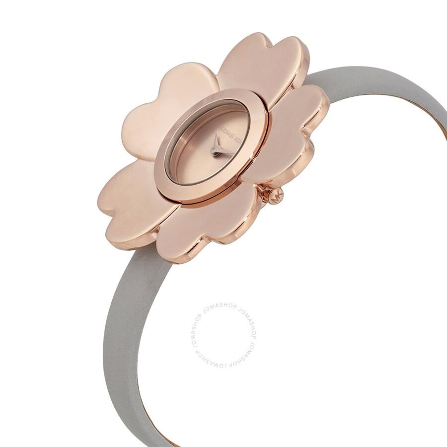 7395faec0 ... Michael Kors Mena Rose Gold-tone Dial Flower Ladies Watch MK2665 ...