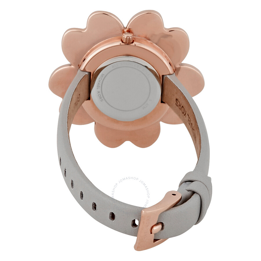 0f21b446242d Michael Kors Mena Rose Gold-tone Dial Flower Ladies Watch MK2665 ...