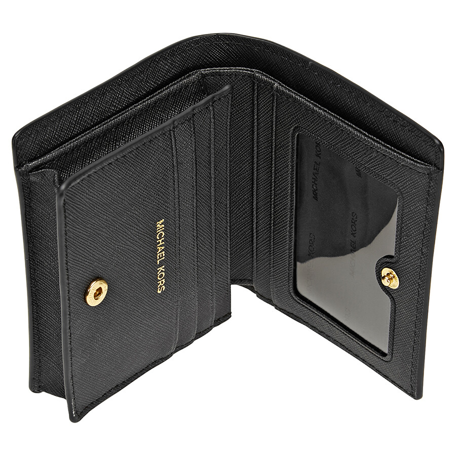8f8f1f0eebc4 Michael Kors Mercer Card Holder- Black - Michael Kors Handbags ...