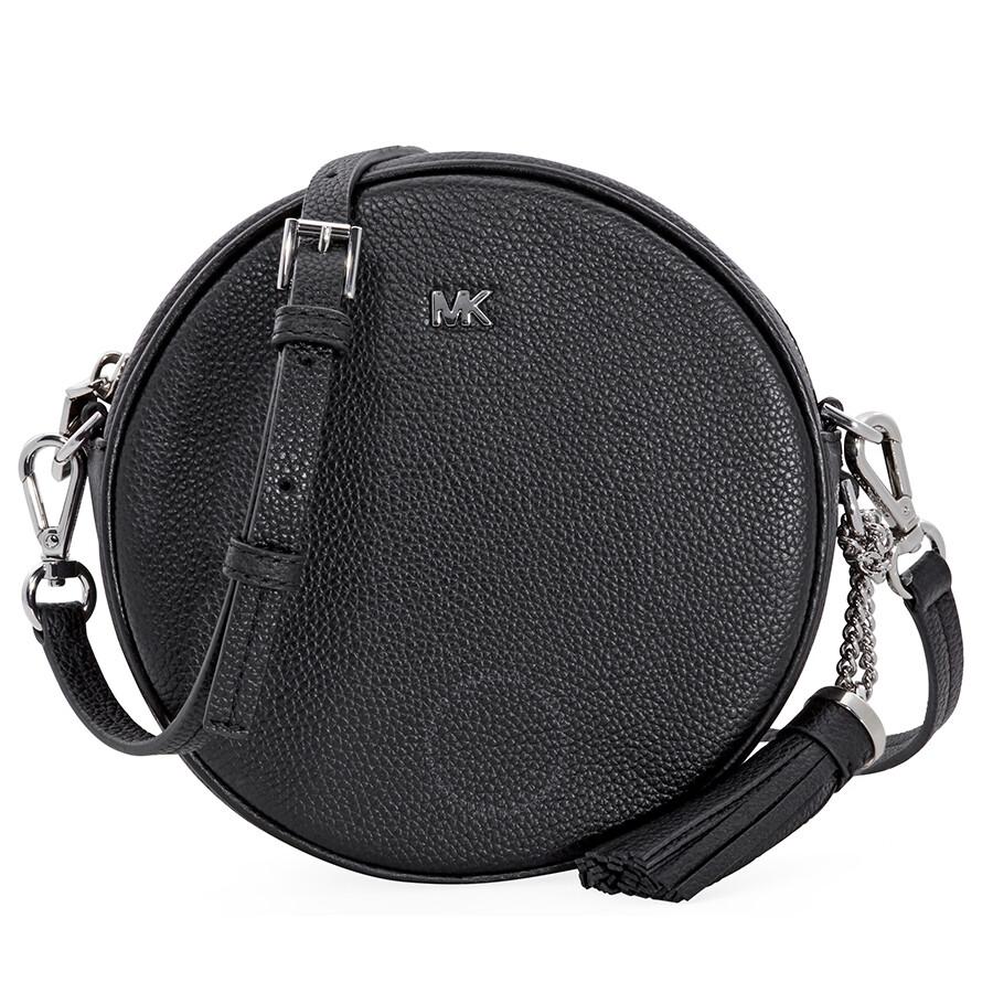 a309b45d4e7a Michael Kors Mercer Crossbody Bag- Black - Mercer - Michael Kors ...