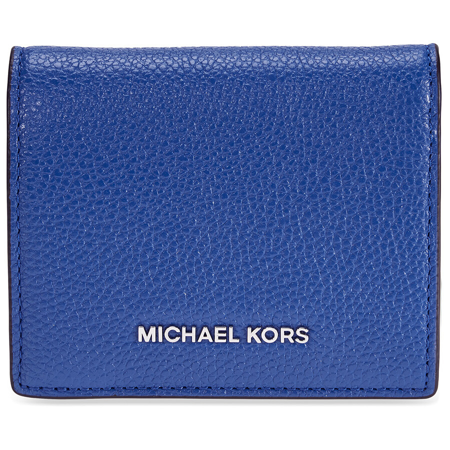 82df0121aef0 Michael Kors Mercer Flap Card Holder - Electric Blue - Mercer ...