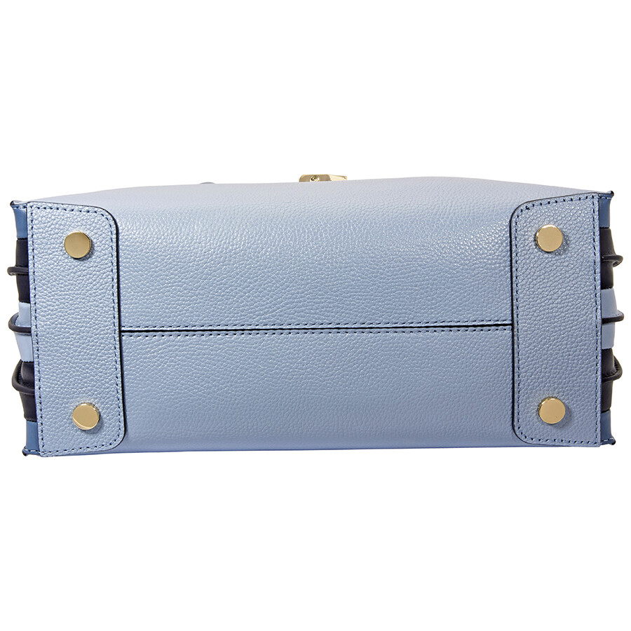 Michael Kors Mercer Large Accordion Tote- Pale Blue - Mercer ... 43cecfbf5cd33