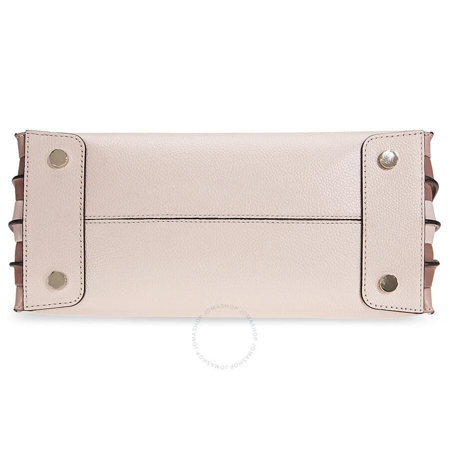 ec84fd546fbf Michael Kors Mercer Large Accordion Tote- Soft Pink - Handbags ...