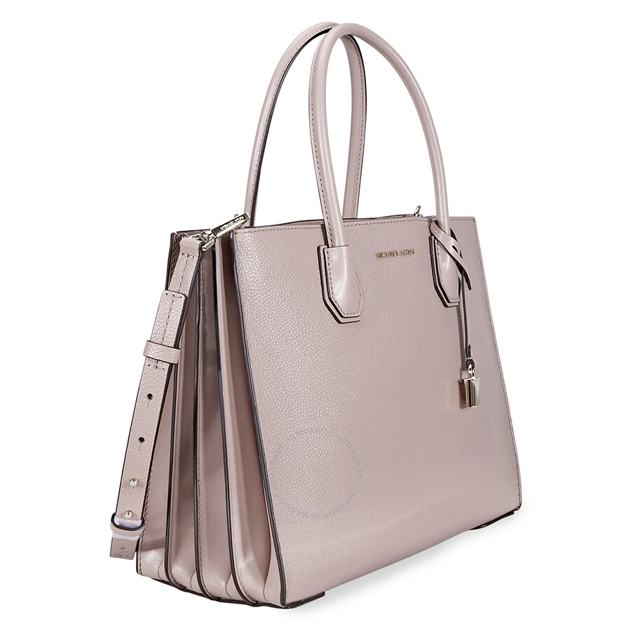 e62550f4fc86 Michael Kors Mercer Large Accordion Tote Fawn - Mercer - Michael ...