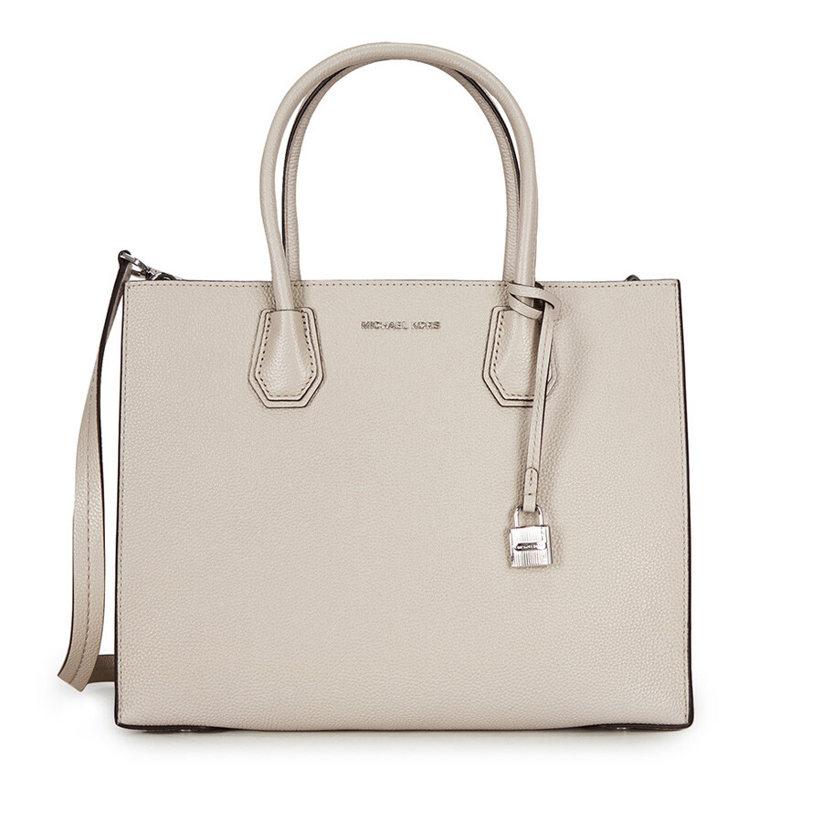 5714b259f00d7 Michael Kors Mercer Large Bonded Leather Tote - Cement Item No.  30F6SM9T3L-092