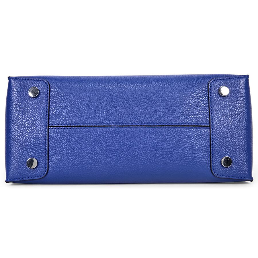7896f7c033c2 Michael Kors Mercer Large Bonded Leather Tote - Electric Blue Item No.  30F6SM9T3L-446