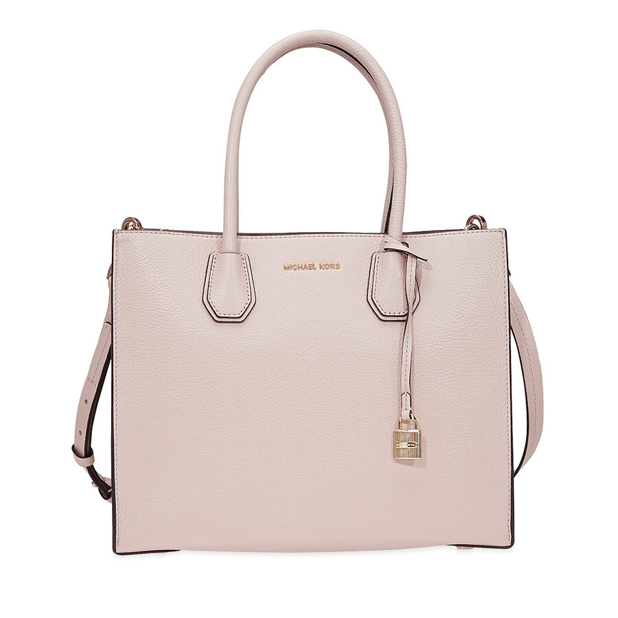 Michael Kors Mercer Large Leather Tote- Soft Pink Item No. MK30F6GM9T3L-187 befdfd49e5548