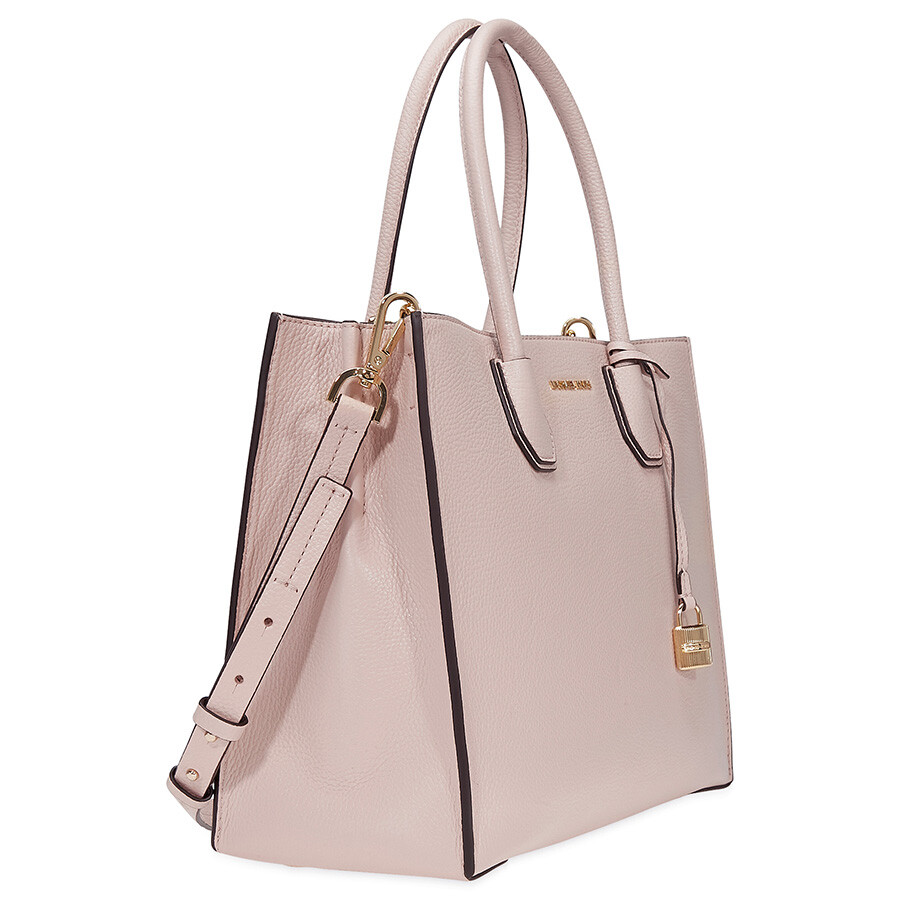65754713a276 Michael Kors Mercer Large Leather Tote- Soft Pink - Michael Kors ...