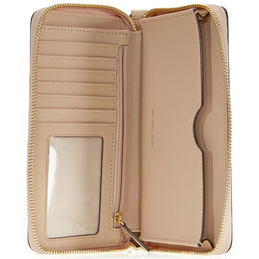 a70151ec2195 Michael Kors Mercer Large Phone Wristlet - Oyster - Mercer - Michael ...