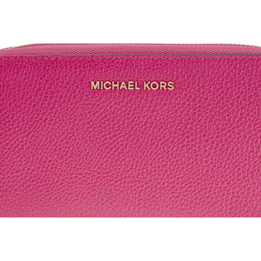 245cd1e7e4edbc Michael Kors Mercer Large Phone Wristlet - Ultra Pink - Mercer ...