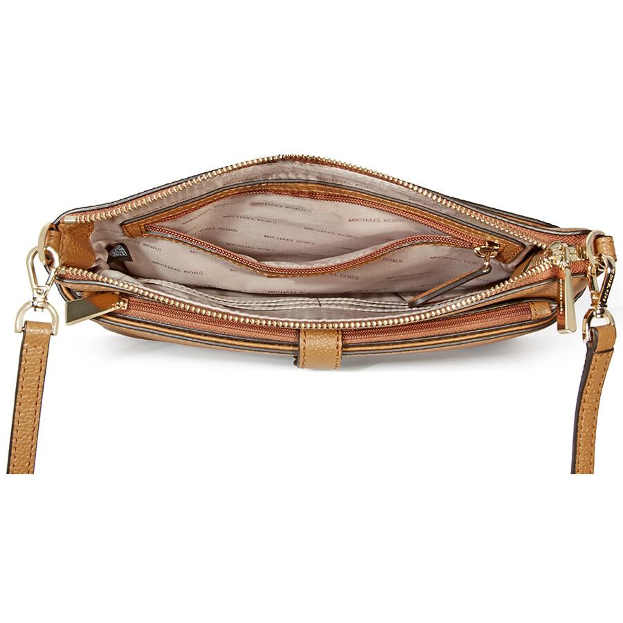 8332ac4647ee42 Michael Kors Mercer Large Snap Pocket Crossbody Bag - Acorn - Mercer ...