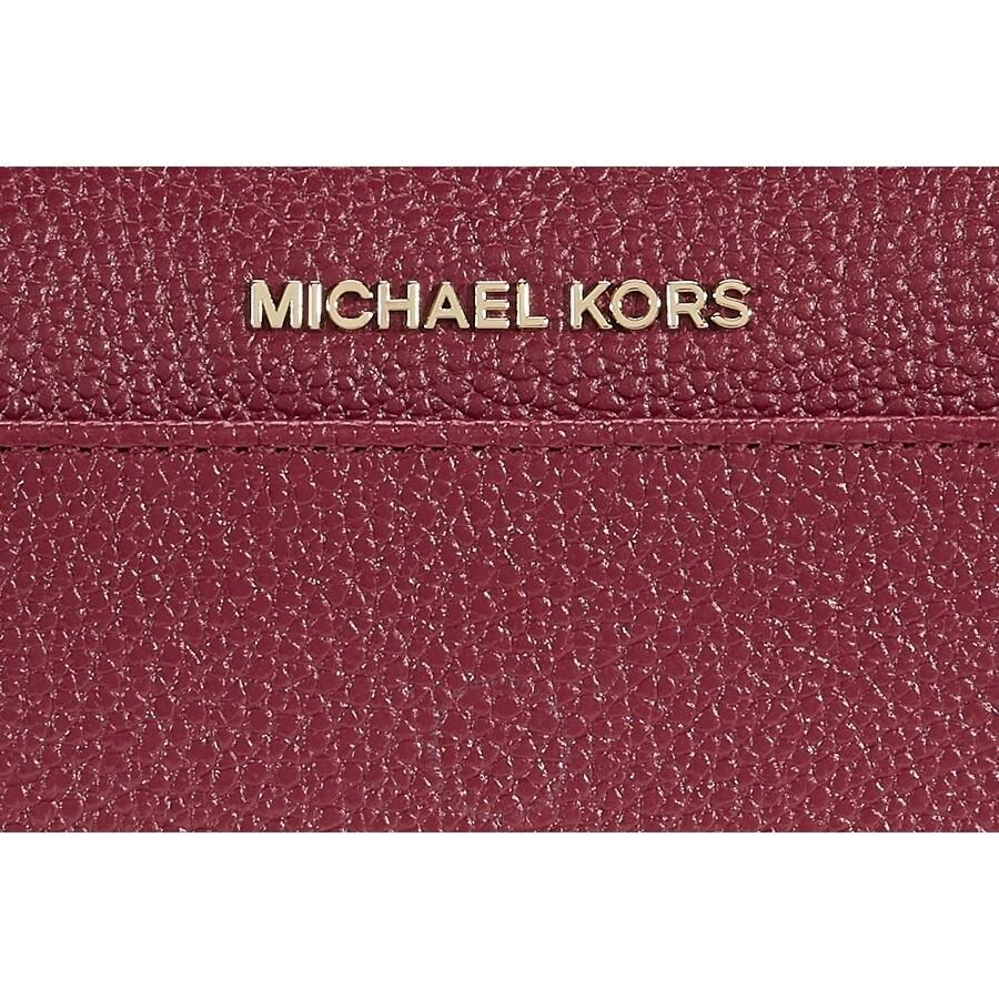 3f3c37621355 Michael Kors Mercer Leather Wallet - Mulberry - Mercer - Michael ...