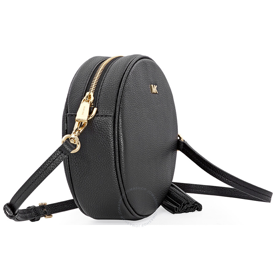 14e756fdc8bba5 Michael Kors Mercer Medium Canteen Crossbody Bag- Black - Mercer ...