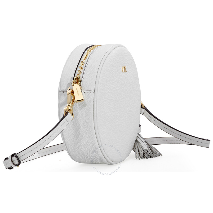 fef188b26f42 Michael Kors Mercer Medium Canteen Crossbody Bag- Optic White ...