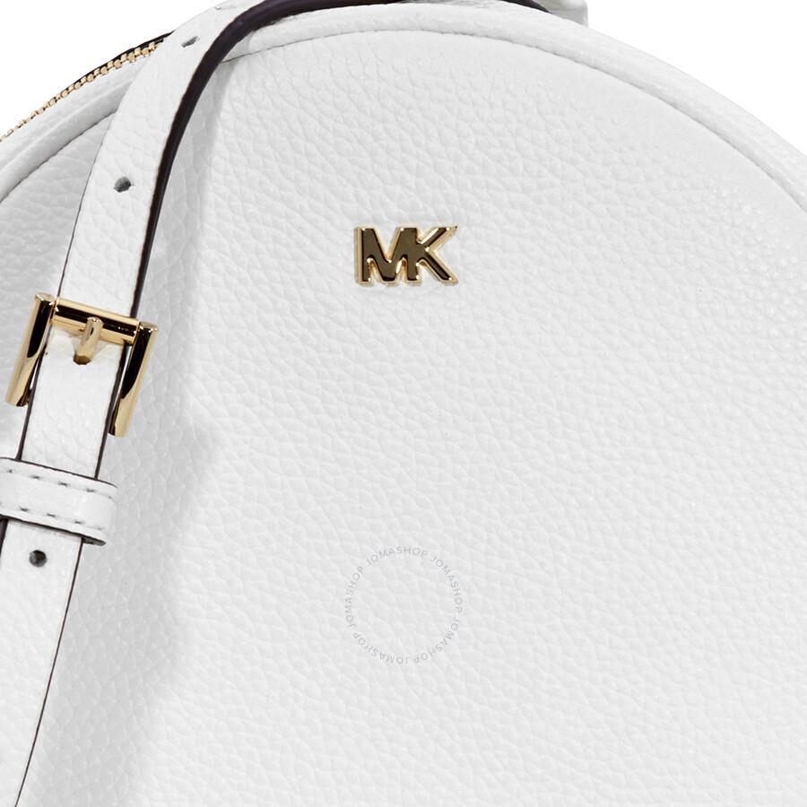 c9aacc1b93c7 Michael Kors Mercer Medium Canteen Crossbody Bag- Optic White ...