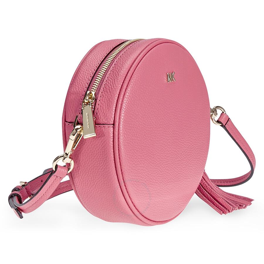 15f80ed6d9f7 Michael Kors Mercer Medium Canteen Crossbody Bag- Rose Pink - Mercer ...