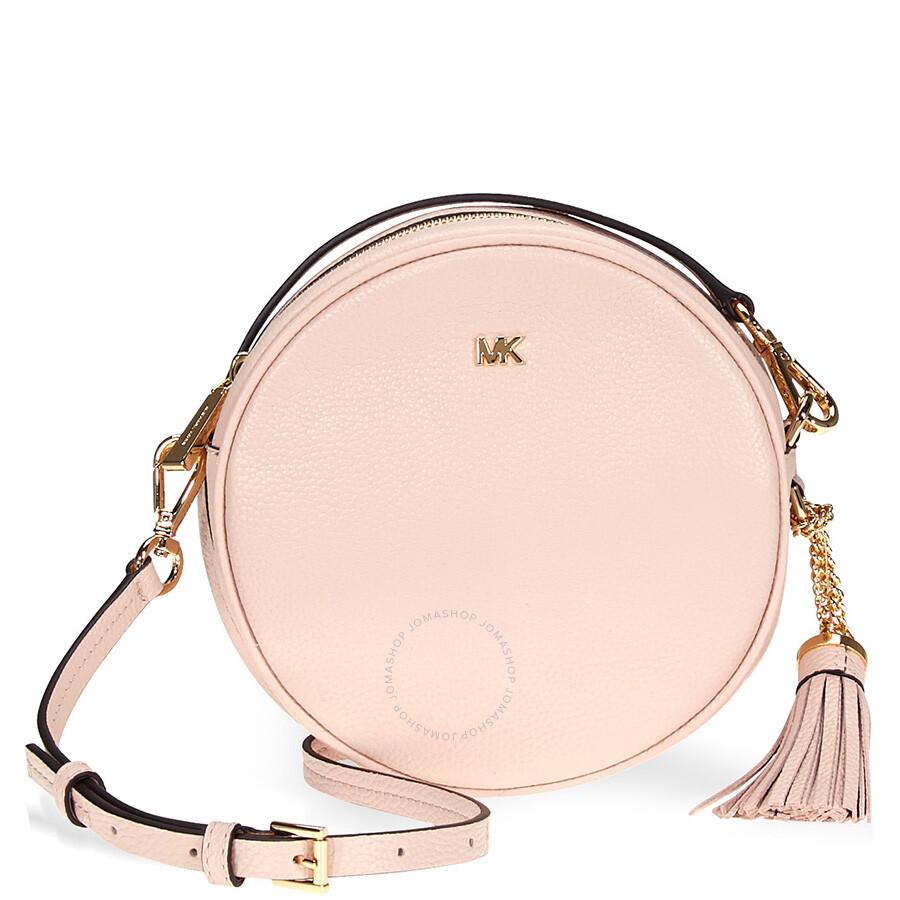 23cec91197a7 Michael Kors Mercer Medium Canteen Crossbody Bag- Soft Pink Item No.  32T8GF5N3L-187