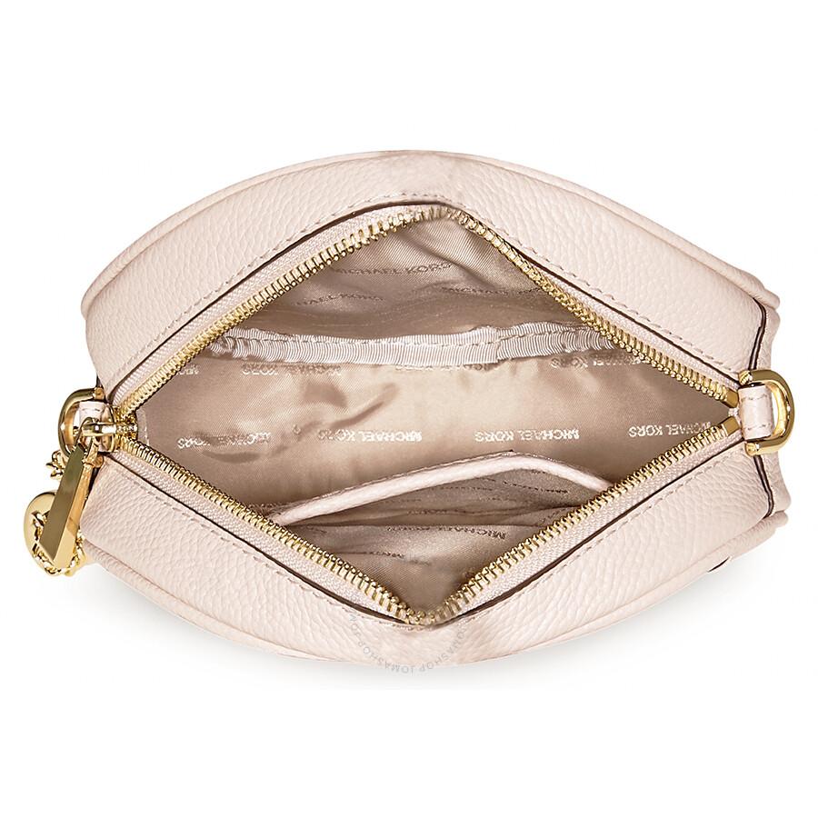 4991bb363a600 Michael Kors Mercer Medium Canteen Crossbody Bag- Soft Pink