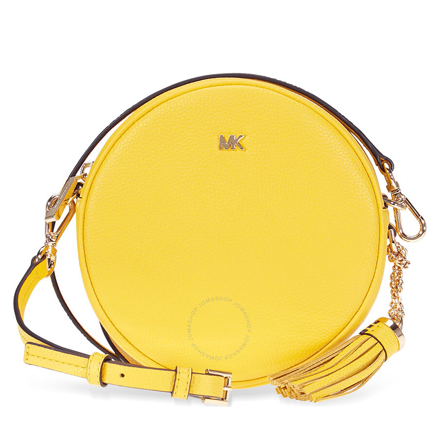 fc75a1c91c15fc Michael Kors Mercer Medium Canteen Crossbody Bag- Sunflower Item No.  32T8GF5N3L-719