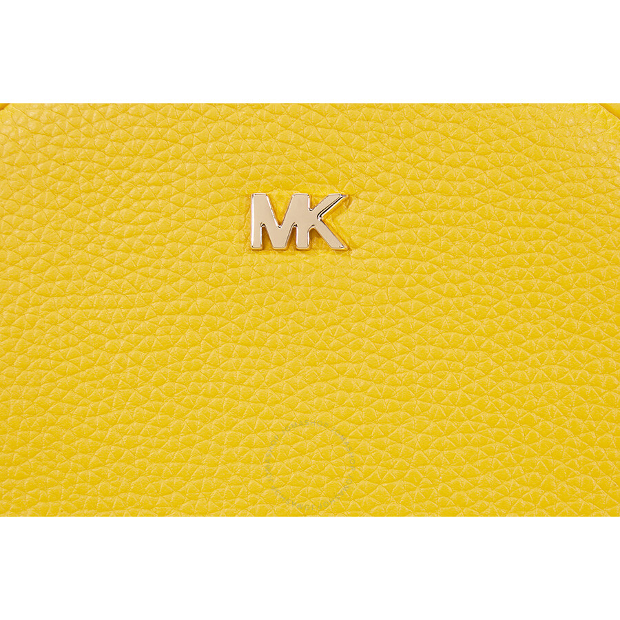 6380c1b6f5b9 Michael Kors Mercer Medium Canteen Crossbody Bag- Sunflower - Mercer ...