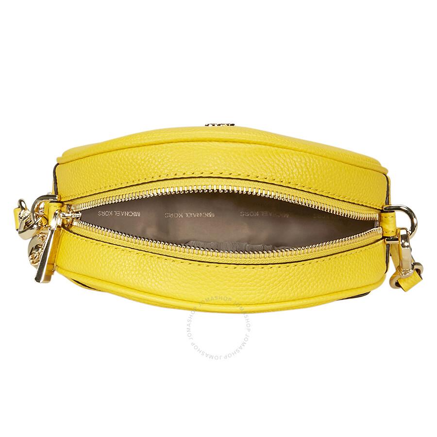 9039071558ae Michael Kors Mercer Medium Canteen Crossbody Bag- Sunflower - Mercer ...