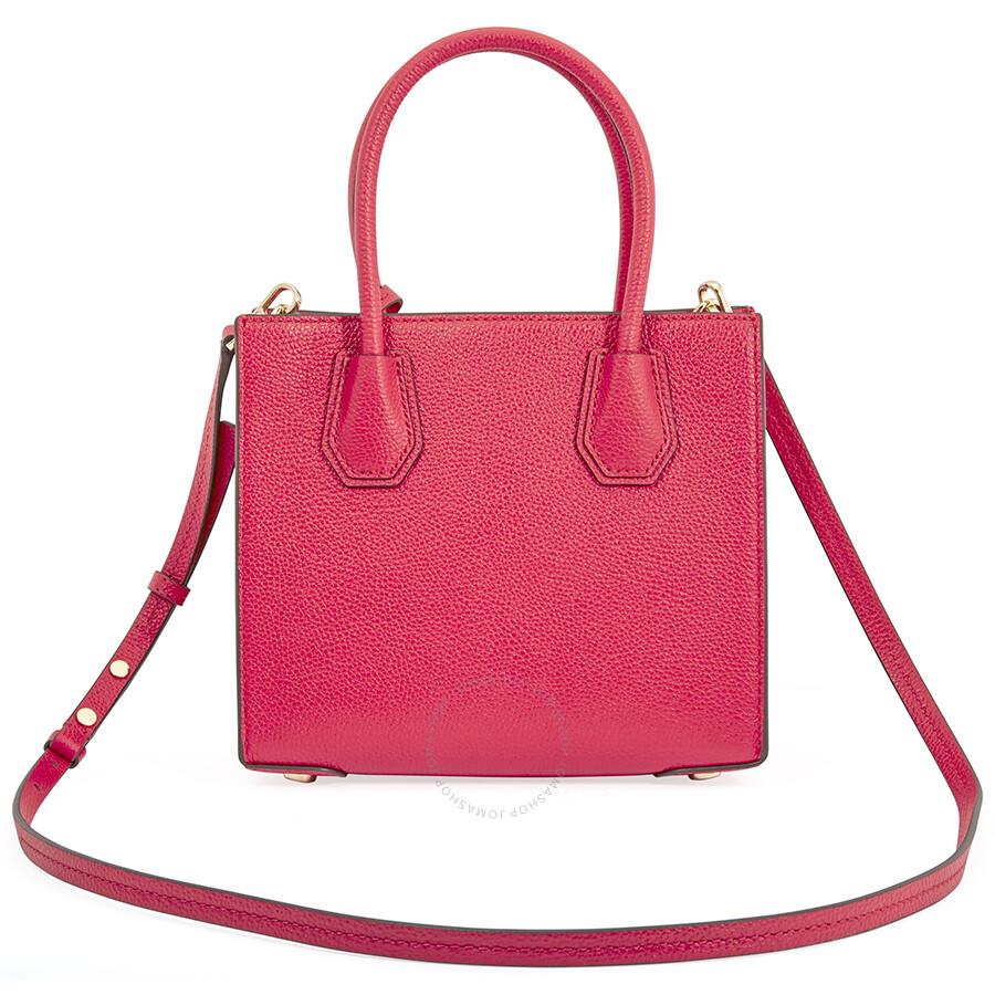 Michael Kors Mercer Medium Crossbody Bag Deep Pink