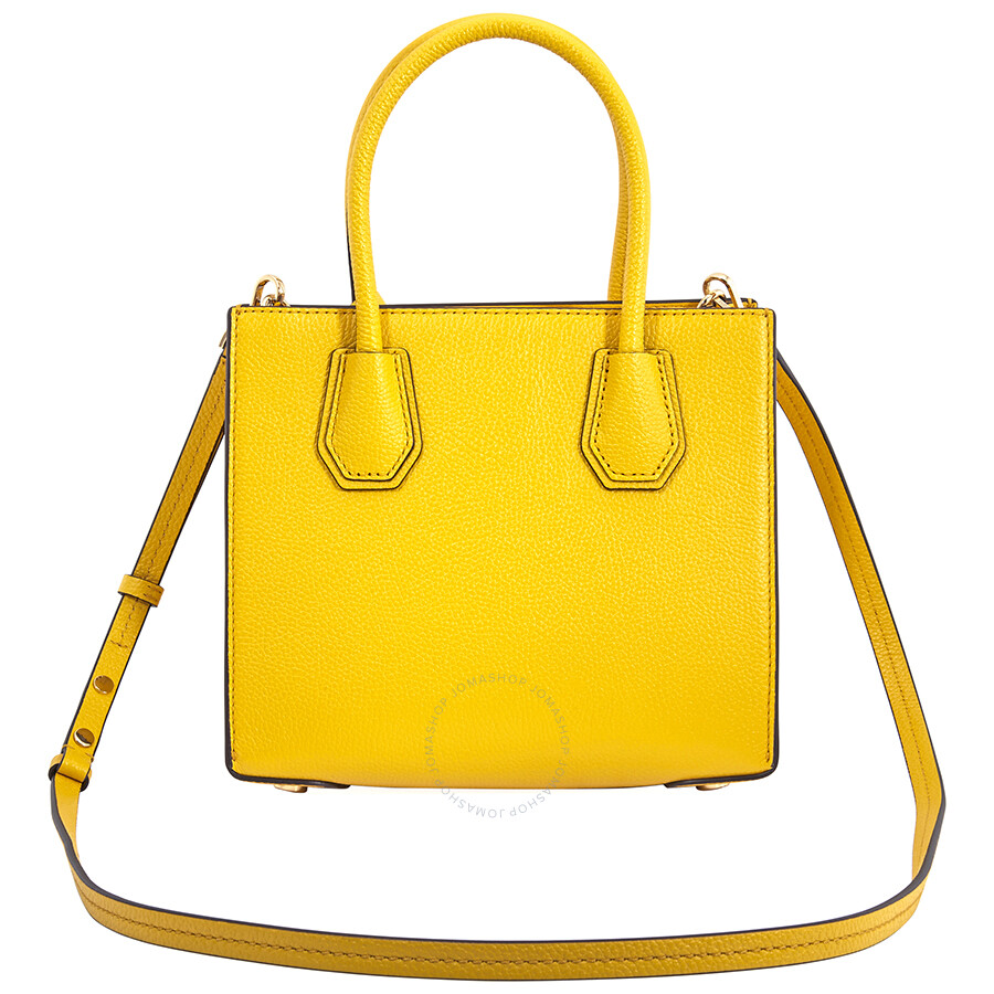 30f52cf2d43b Michael Kors Mercer Medium Crossbody Bag- Sunflower - Mercer ...