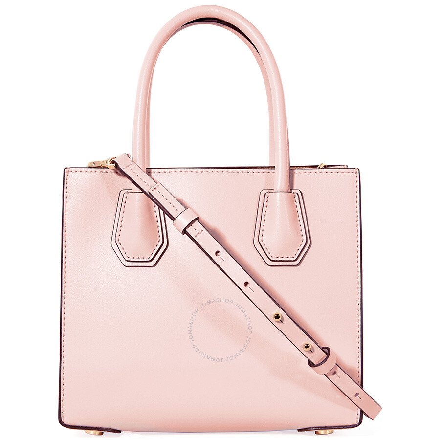 bcdb86526db8 Michael Kors Mercer Medium Heart Studded Messenger Bag - Soft Pink ...
