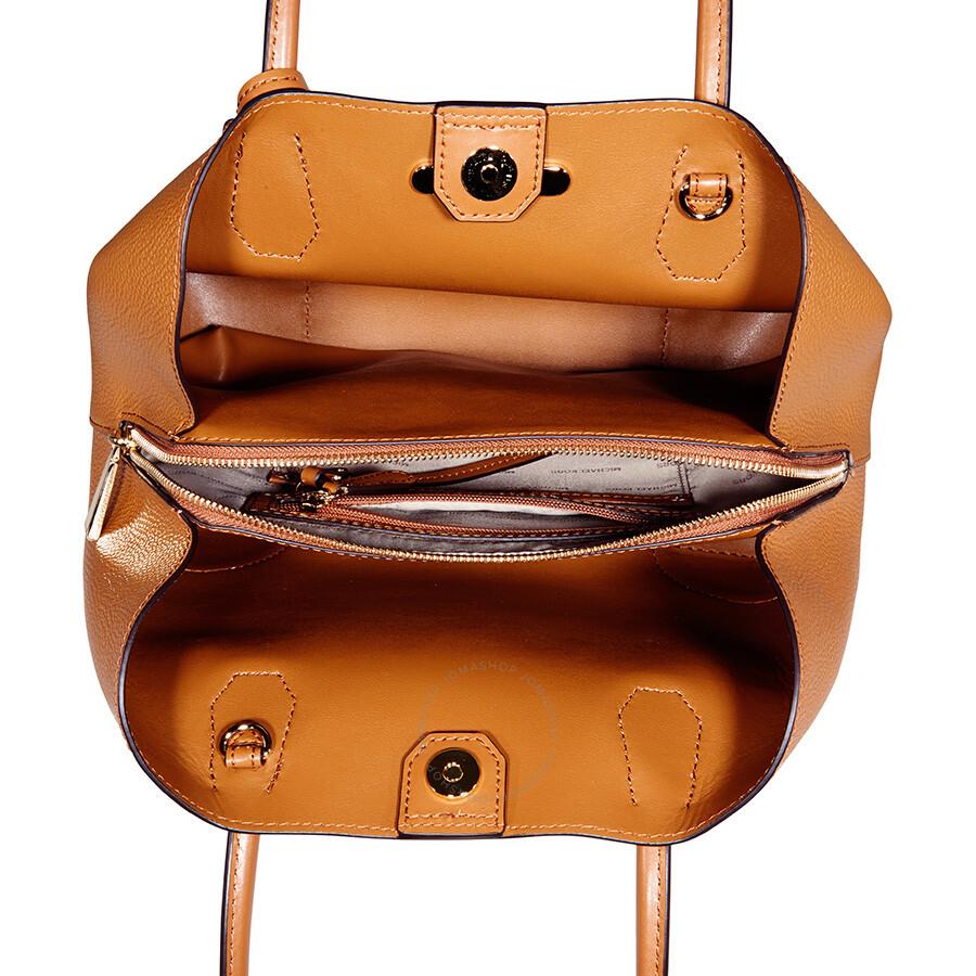 michael kors mercer medium leather satchel acorn. Black Bedroom Furniture Sets. Home Design Ideas