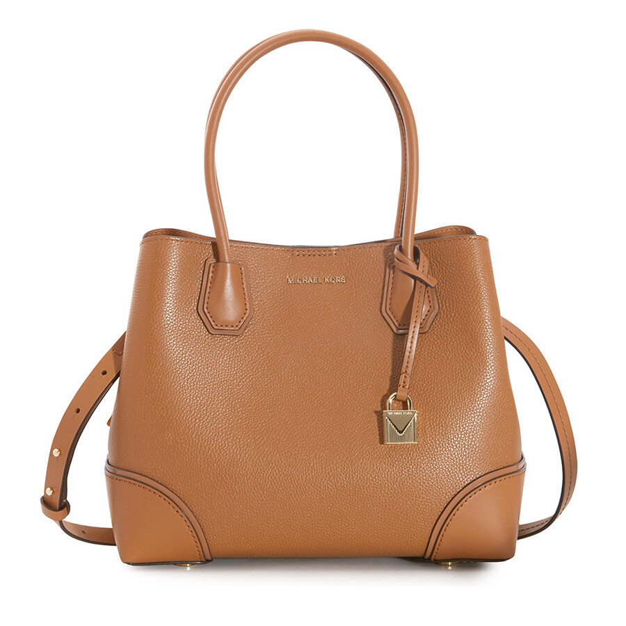 4ec66edae0a2 Michael Kors Mercer Medium Leather Satchel - Acorn - Mercer ...