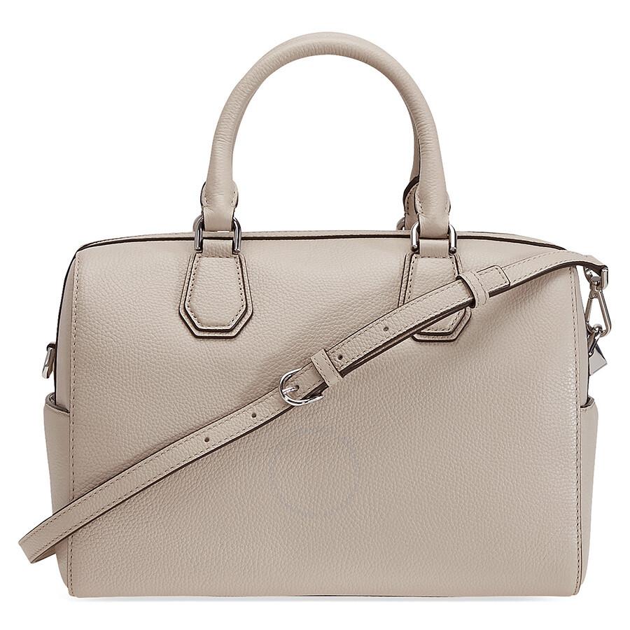 9187b422b626 Michael Kors Mercer Pebbled Leather Duffle Bag - Cement Item No.  30H6SM9U2L-092