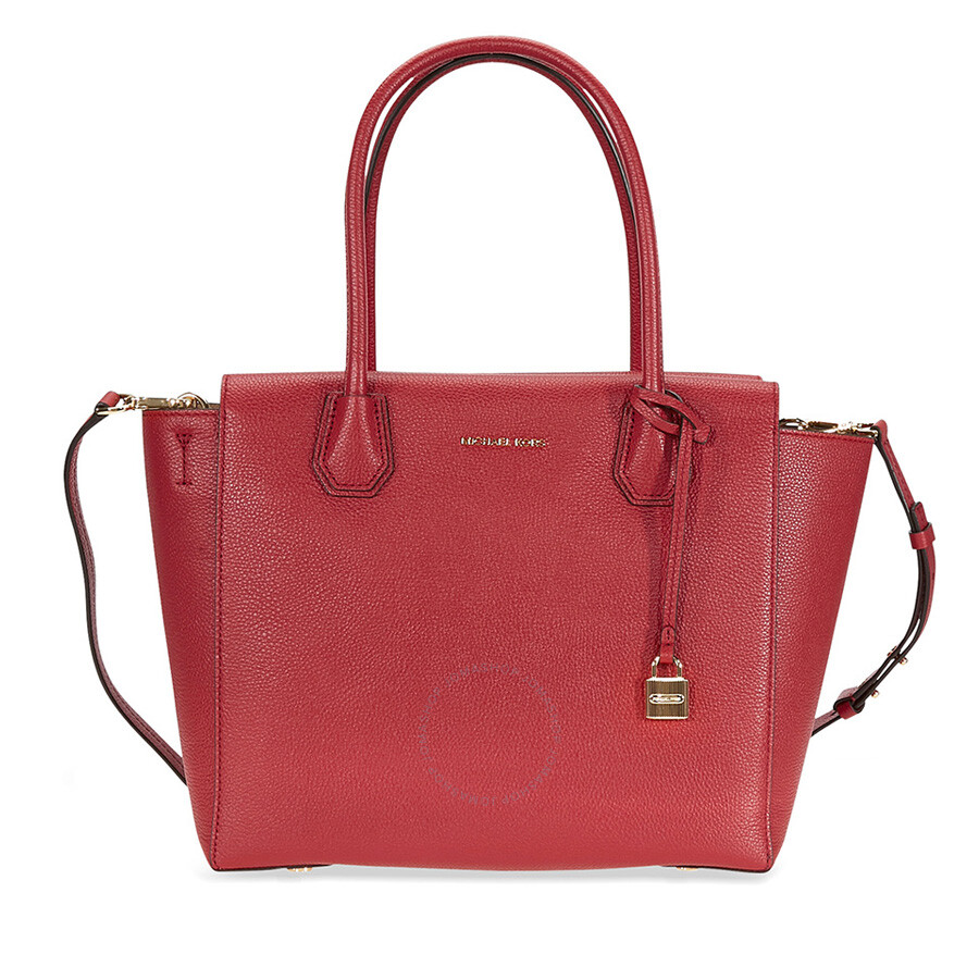 906ea29d0726 Michael Kors Mercer Satchel- Burnt Red - Michael Kors Handbags ...