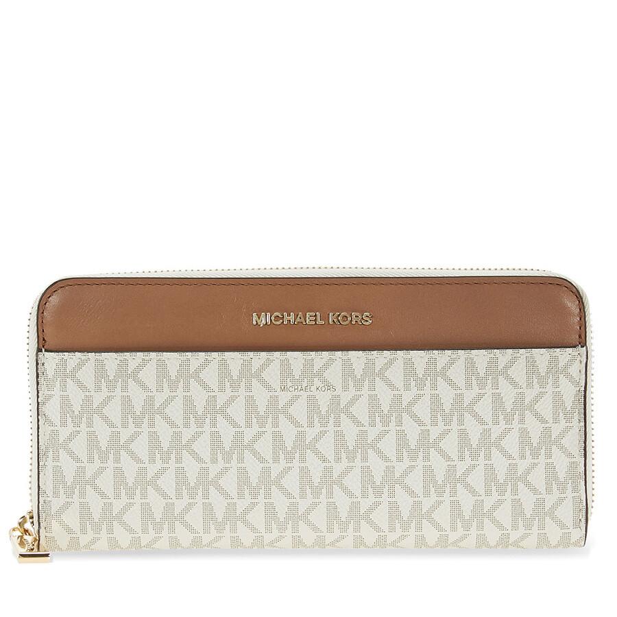 c2288d047dda Michael Kors Mercer Signature Logo Wallet - Vanilla Item No.  MK32S7GM9E9B-150