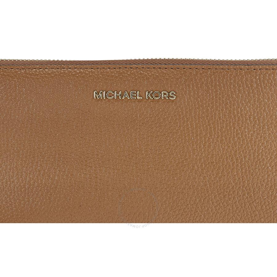 051805f68161c8 Michael Kors Mercer Travel Continental Wallet - Acorn - Mercer ...