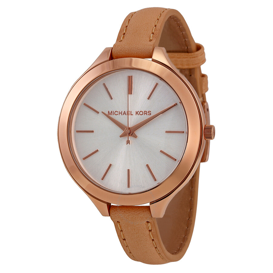 866a3e278048 Michael Kors Mid-Size Runway Rose Gold-tone Ladies Watch MK2284 ...