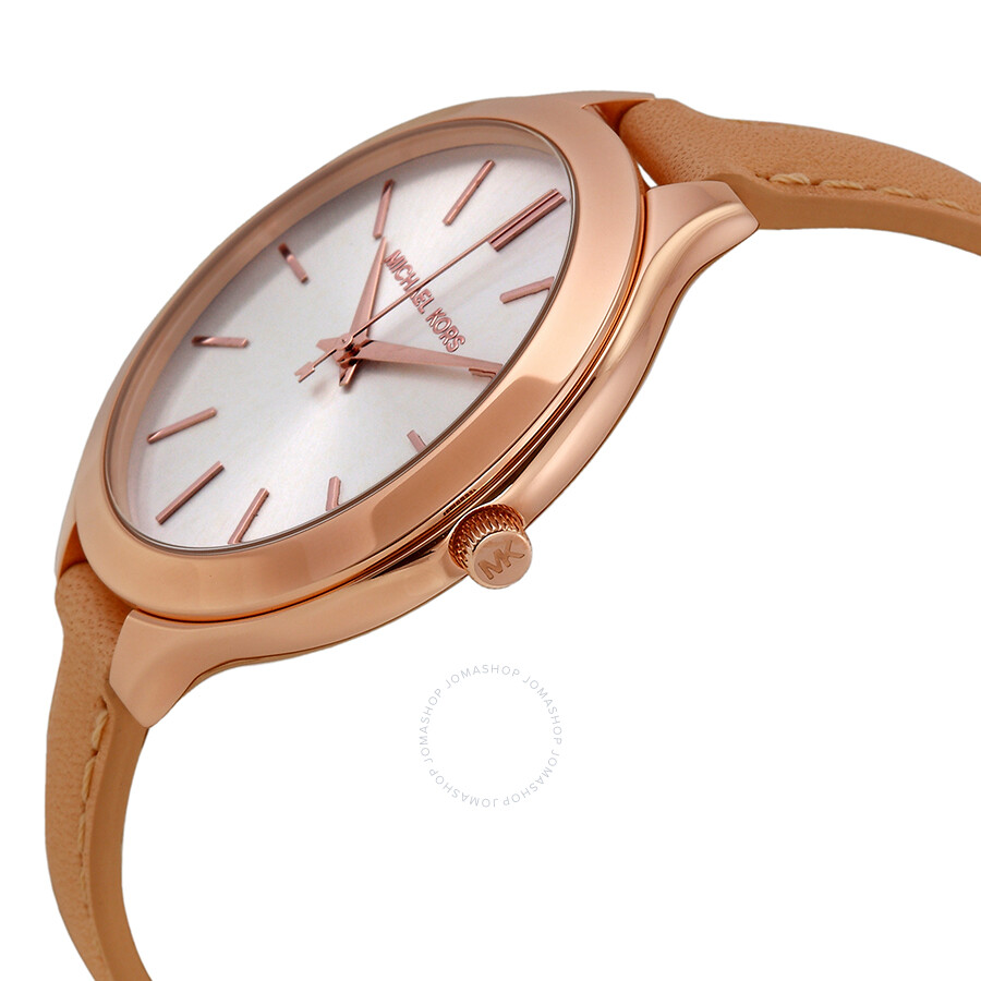 ... Michael Kors Mid-Size Runway Rose Gold-tone Ladies Watch MK2284 ...