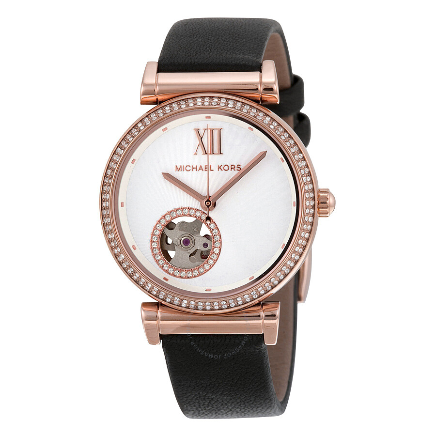 Michael Kors Watches For Women Leather