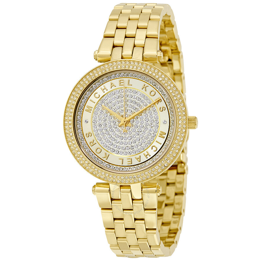 Michael kors womens watches gold