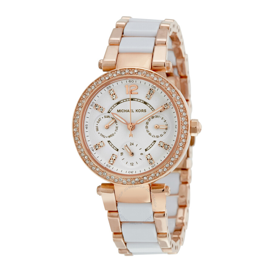 b44480dca333 Michael Kors Mini Parker Chronograph Ladies Watch MK6261 - Parker ...