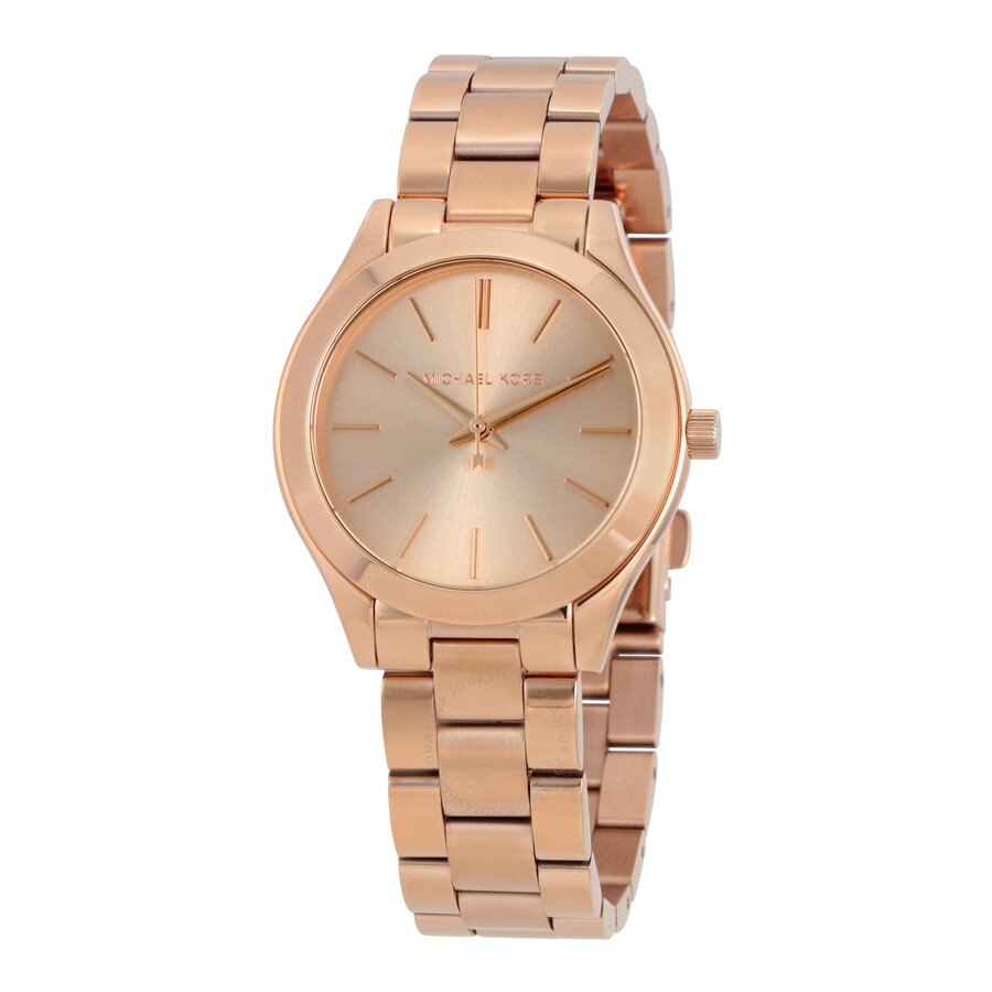 04ba43fb2 Michael Kors Mini Slim Runway Ladies Watch MK3513
