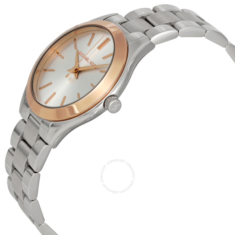 a56604465 Michael Kors Mini Slim Runway Ladies Watch MK3514
