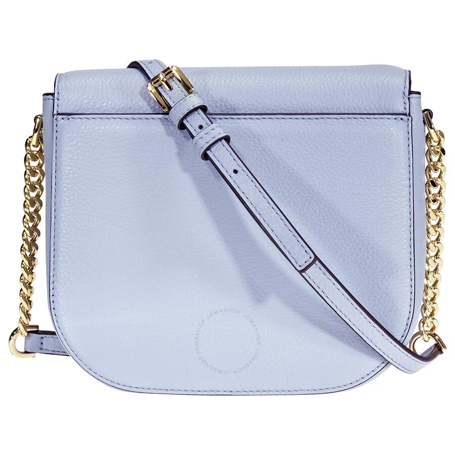 1afa9371c1df Michael Kors Mott Crossbody Bag- Pale Blue - Michael Kors Handbags ...