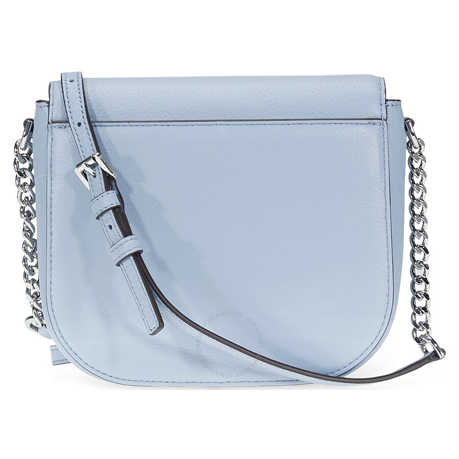 f4a0bc7126a4 Michael Kors Mott Crossbody Bag Pale Blue Handbags