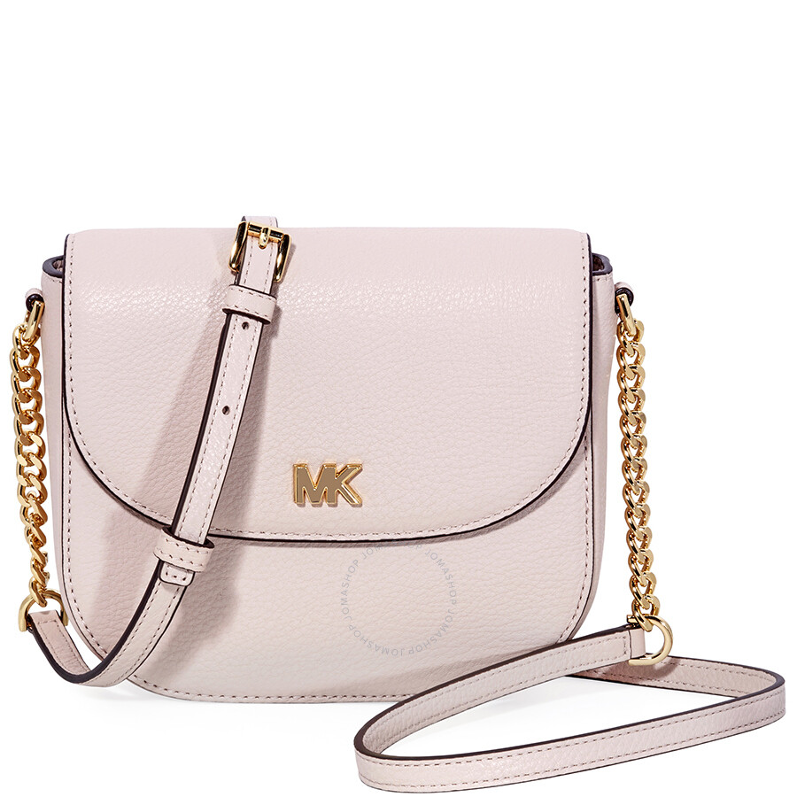 f903e3260bf9 Michael Kors Mott Crossbody Bag- Soft Pink - Michael Kors Handbags ...