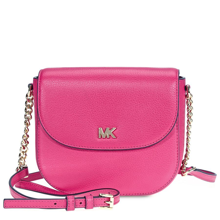 Michael Kors Mott Crossbody Bag Ultra Pink