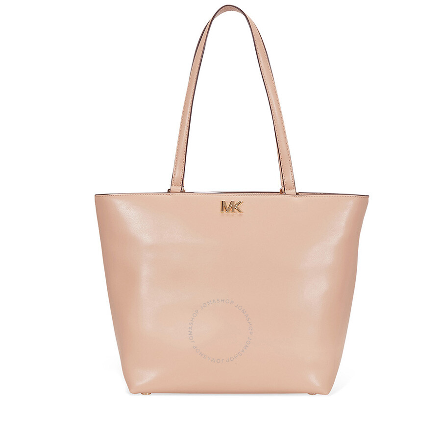 b27ae1c4fb2903 Michael Kors Mott Medium Leather Tote - Oyster Item No. 30F7GOXT2L-134