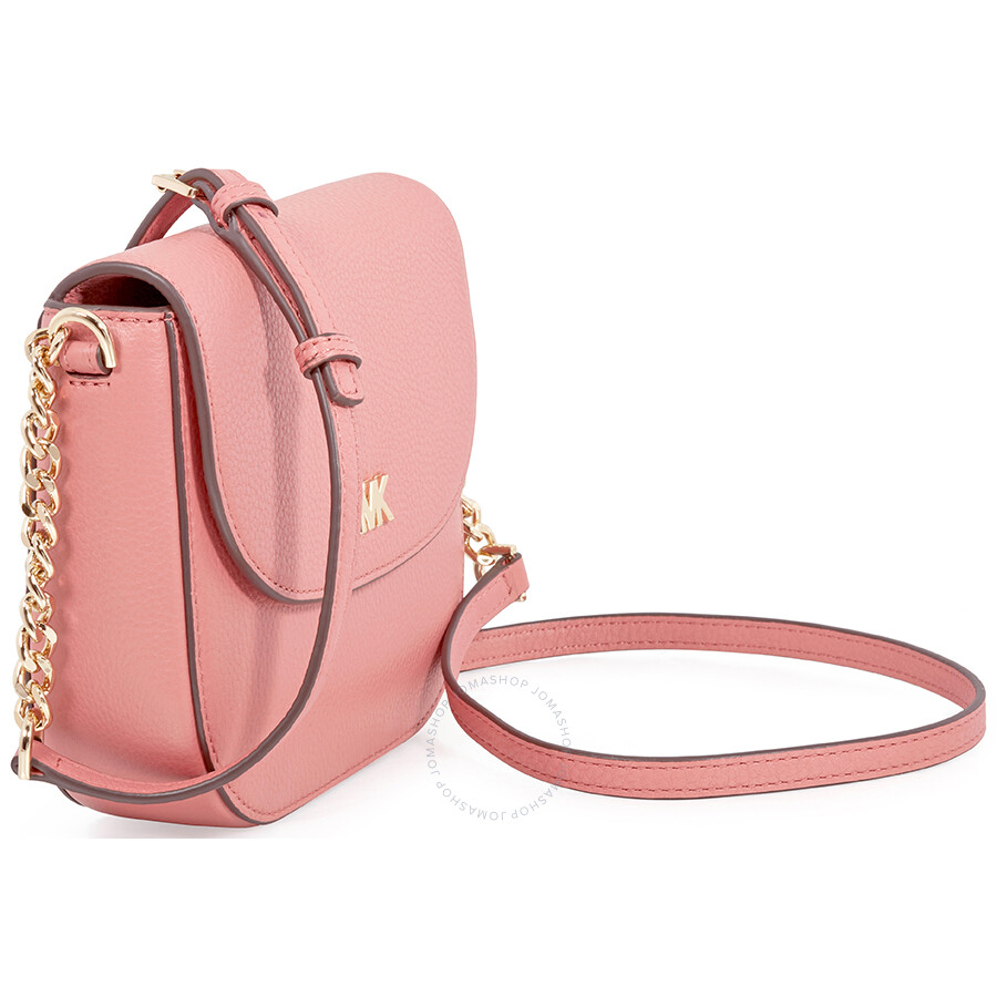 8967cc50b6c5 Michael Kors Mott Pebbled Leather Crossbody- Rose - Michael Kors ...