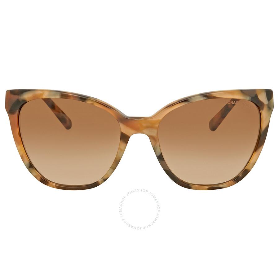 b5268344cd0ae ... Michael Kors Napa Brown Gradient Sunglasses MK2058 331113 55 ...
